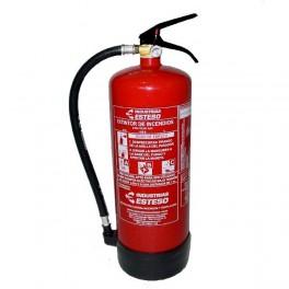 Extintor de polvo ABC 9kg